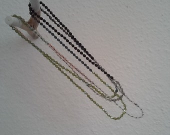 Extra long necklace