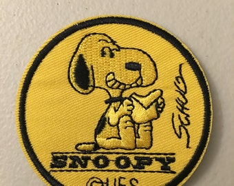 Snoopy Cartoon Patch