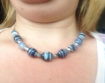 Humbug bead necklace