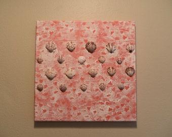 Pink Sea foam  12 x 12