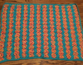 Shell Stitch Baby Blanket