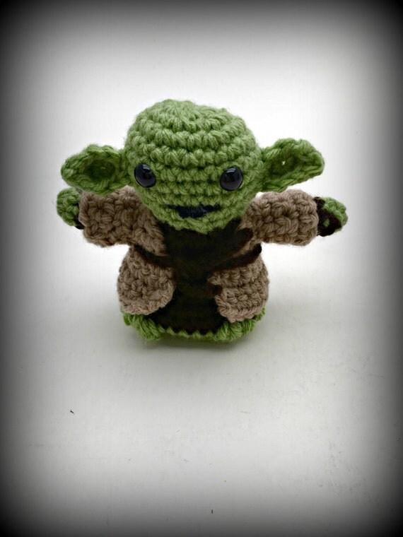Crochet Yoda Amigurumi/Doll