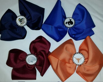 Bottle Cap Botique Hair Bow