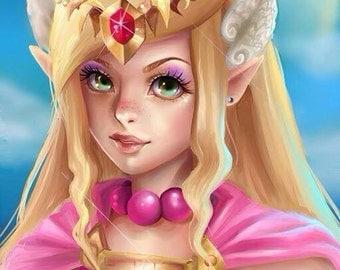 Princess Zelda poster