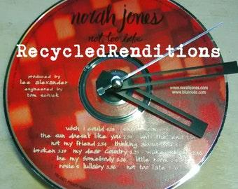 Norah Jones CD Clock - Not Too Late