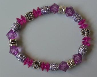 Pink sparkle bracelet