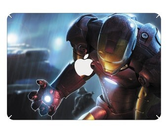 "Iron Man Marvel heroe Macbook Pro Air 13"" Mac Sticker Skin Decal Vinyl"