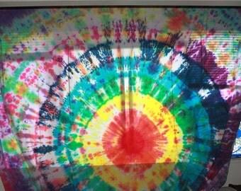 Tie Dye Tapestry