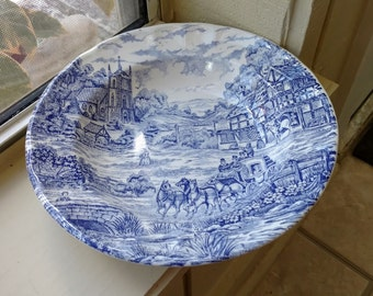 Castellania Blue Western Bowls Made in Italy