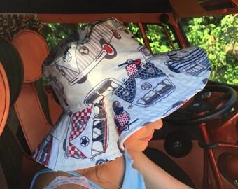 VW Campervan Floppy Sun Hat