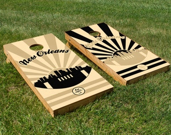 New Orleans Saints Cornhole Board Set