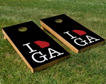 Atlanta Falcons Pride Cornhole Board Set