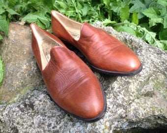Kurt Geiger brown leather shoes