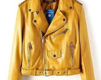 Leather jackets - Pu leather