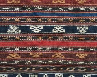 Djajim Caucasian kilim - Kilim Djajim d'origine caucasienne