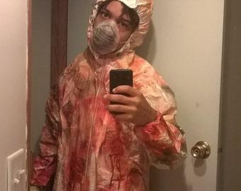 Custom made infected hazmat costume