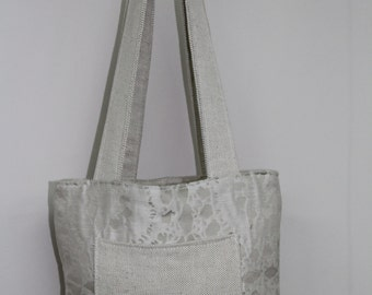 Cream Fully Reversible Bag