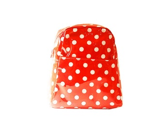 SMALL Red Spot Backpack