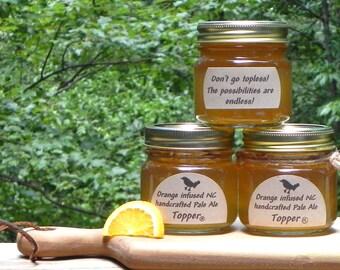 Orange infused North Carolina Pale Ale Topper