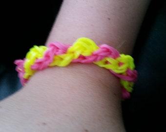 Double Helix Rainbow Loom Bracelet