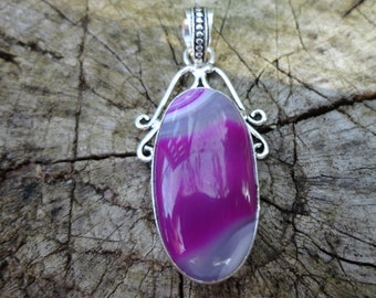 "promo 20% pendant ""agate collection"" rose, Silver 925"