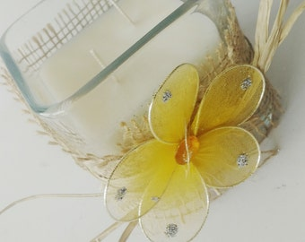 Natural Soy Lemongrass and Lavender Candle