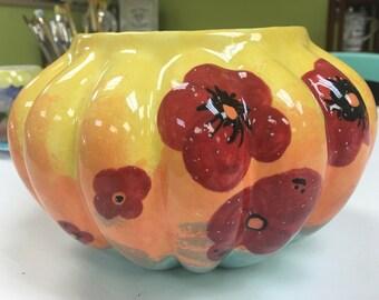 """5x8"""" Ceramic Imperial Bowl Planter"""