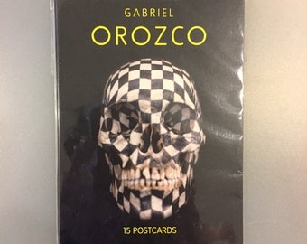 Gabriel Orozco postcards - Tate - NEW