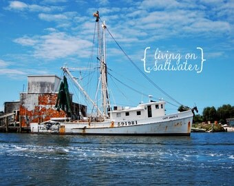 Shrimp Boat – Beaufort, NC – Photography – Multiple Sizes