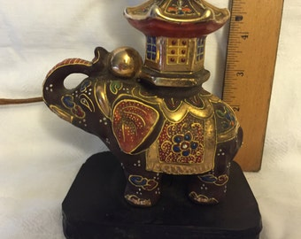 Satsuma elephant lamp