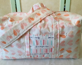 Happily Ever After Handmade Diaper Bag
