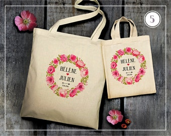 Tote Bag wedding - 5 models