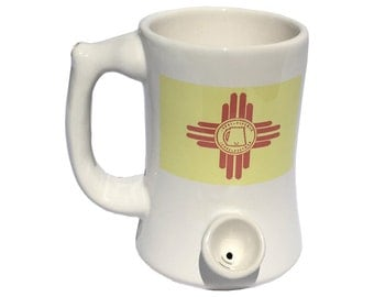 PIPEMUG New Mexico Flag (Cosmetic Blemish)
