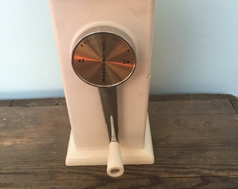 Vintage/antique Ice-O-matic ice crusher.