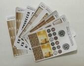 I Love Coffee Week-at-a-Glance Stickers, Planner Stickers, Erin Condren, Happy Planner