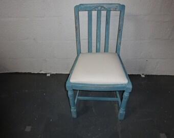 A Vintage 1940's Oak Chair