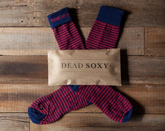 The Oxford by DeadSoxy - High Boot Socks for Men - Casual Socks for Men - Dress Socks for Men