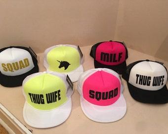 Custom ladies trucker hats