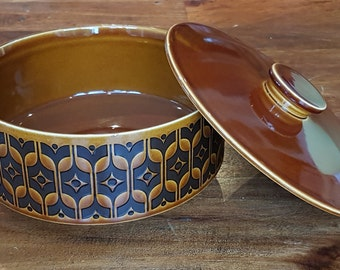 Beautiful Lidded Serving Dish, Hornsea Heirloom