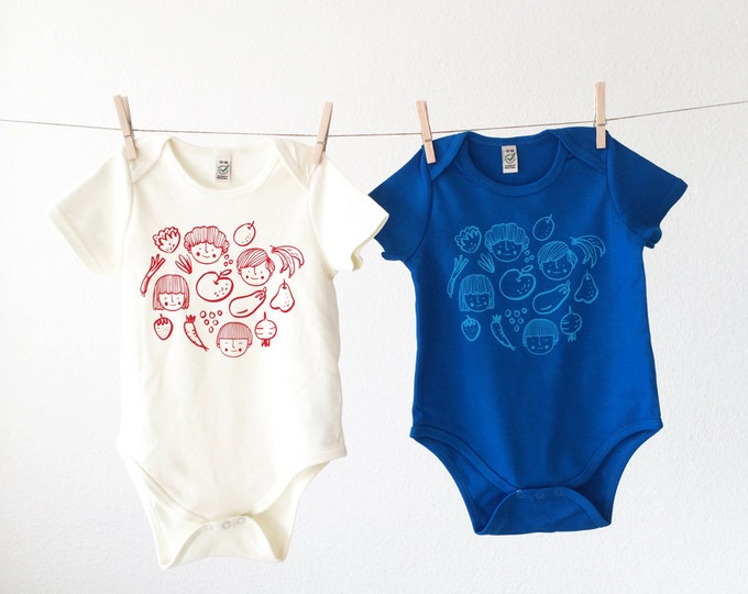 Organic Baby Bodysuit // Vitaminas