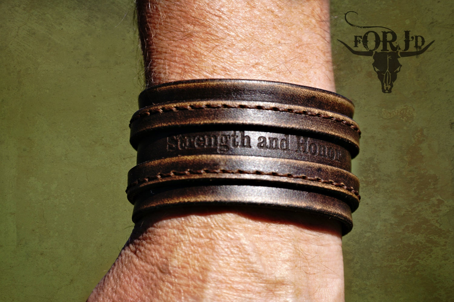 Vintage Leather Cuff Bracelet,genuine Leather Bracelet, Men's Leather  Bracelet, Women's Leather Bracelet, Personalized Leather Bracelet