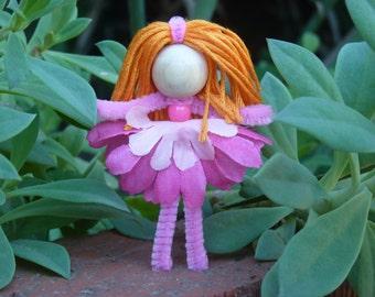Flower Doll Kit (5 dolls), Kids Craft Kit, Kids Crafts, Doll Making, Waldorf inspired, Dolls