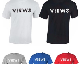 Views from the Six T-Shirt Drake Shirt Views from 6 Shirt