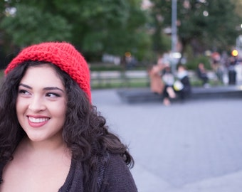 The Big Apple Hand Knit Hat