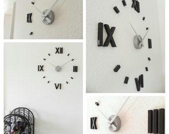 Wood clock, wood wall clock Casper ' o'clock