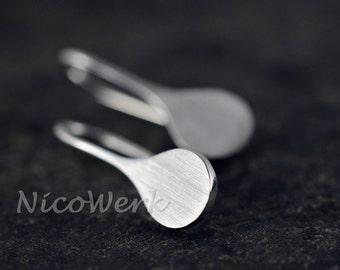 Plain Silver earrings women's earrings ear jewelry 925 jewelry gift 316