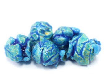 Blue Popcorn (Blueberry) Gourmet Popcorn Favors Gifts Bridal shower Baby Shower Birthday Party