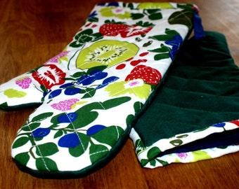 2 pcs.BBQ gloves,Flame Resistant material gloves, Kitchen gloves, Oven gloves