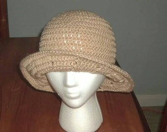 Fast & Easy Adult Summer Hat With Brim