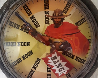 It's HIGH NOON Overwatch Inspired McCree clock unofficial